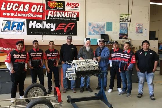 Donations to 4 High School Auto Programs